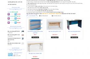 Mẫu web nội thất