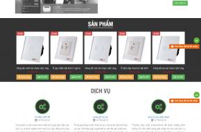 Mẫu web Công ty phat triển công nghệ
