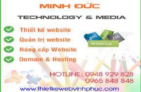 Dịch vụ Thiết kế Website tại Phúc Yên uy tín, chuyên nghiệp