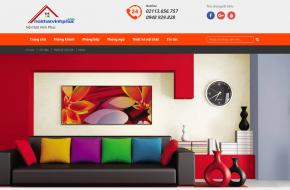 Thiết kế web nội thất tại Vĩnh Phúc