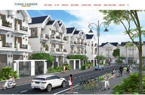 Thiết kế Website Bất động sản (Một Dự án cụ thể)