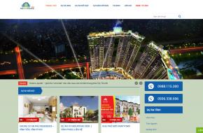 Thiết kế Website Bất động sản (Phân phối nhiều Dự án)