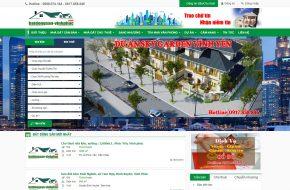 Thiết kế Website Rao vặt nhà đất tại Vĩnh Phúc