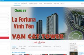 Thiet Ke Website Bat Dong San Tai Vinh Phuc